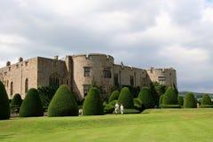 城堡chirk 免版税库存图片