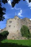 城堡chirk 库存图片