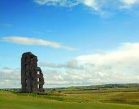 城堡clare co康纳・爱尔兰lahinch o 免版税库存照片