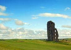城堡clare co康纳・爱尔兰lahinch o 库存图片