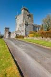 城堡clare co爱尔兰knappogue 免版税库存图片