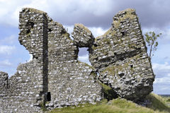 城堡clonmacnoise废墟 库存图片