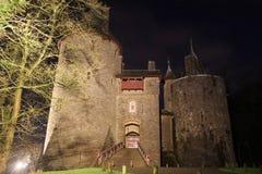 城堡Coch -加的夫威尔士 库存照片