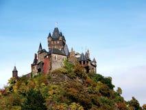 城堡cochem德国mosella 免版税库存照片