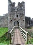 城堡coity 库存图片