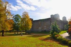 城堡colchester 库存图片