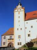 城堡colditz门主要 图库摄影