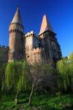 城堡corvinesti 图库摄影
