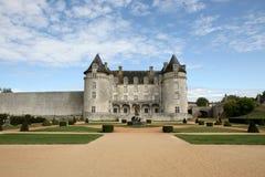 城堡courbon拉洛希 库存照片