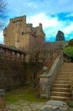 城堡crathes苏格兰 库存图片