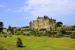 城堡culzean苏格兰 库存照片