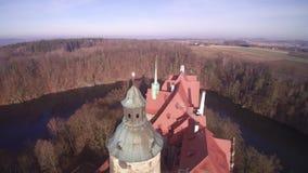 城堡CZOCHA -飞行在城堡 影视素材