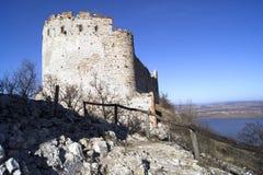 城堡d有历史的ky vi 库存照片