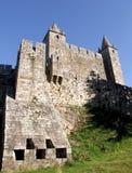 城堡da feira玛丽亚・圣诞老人 库存图片