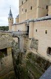 城堡de塞戈维亚城堡西班牙 免版税图库摄影