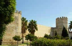 城堡de弗隆特里赫雷斯la 免版税库存照片