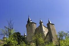 城堡de segovia 库存图片