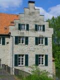 城堡Dellwig 免版税库存图片