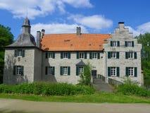 城堡Dellwig 库存图片