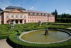城堡Dobris,捷克共和国 免版税图库摄影