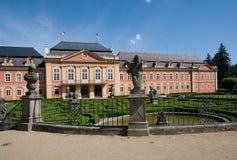城堡Dobris,捷克共和国 免版税库存照片
