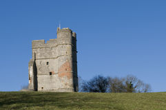 城堡donninton 库存图片