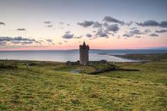 城堡doonagore 库存照片