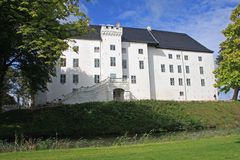 城堡Dragsholm 免版税库存图片