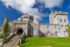 城堡dromoland 库存照片