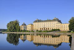 城堡drottningholm 图库摄影