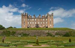 城堡drumlanrig庭院 免版税库存图片