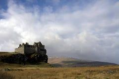 城堡duart 库存照片