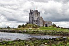 城堡dunguaire爱尔兰kinvara 库存图片