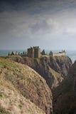 城堡dunnottar废墟苏格兰 库存图片