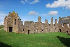 城堡dunnottar废墟 免版税库存图片