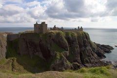 城堡dunnottar苏格兰 免版税库存图片