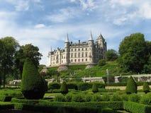 城堡dunrobin 免版税图库摄影