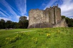 城堡dunstaffnage 免版税库存照片