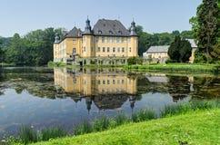 城堡Dyck,德国 免版税库存照片