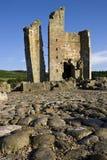 城堡edlingham英国northumberland 免版税图库摄影