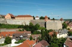 城堡eger匈牙利 图库摄影