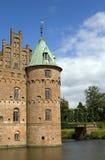 城堡egeskov 库存照片