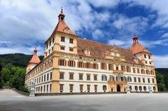 城堡eggenberg格拉茨 图库摄影