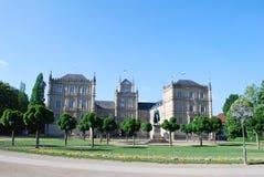 城堡ehrenburg 免版税库存图片