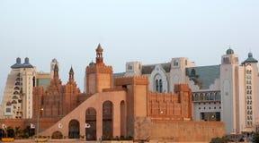 城堡eilat旅馆 图库摄影