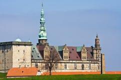 城堡elsinore 免版税图库摄影