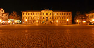 城堡erlangen德国 库存照片