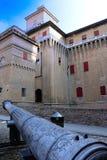 城堡estense费拉拉 免版税图库摄影