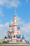 城堡eurodisney 免版税库存照片