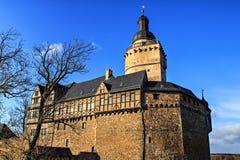 城堡Falkenstein在德国 图库摄影